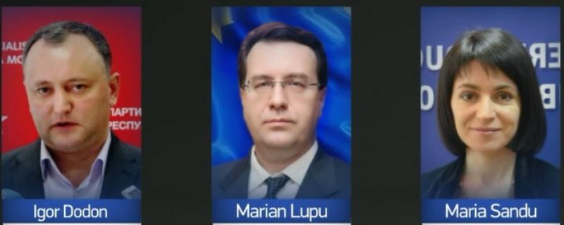 candidati alegeri moldova