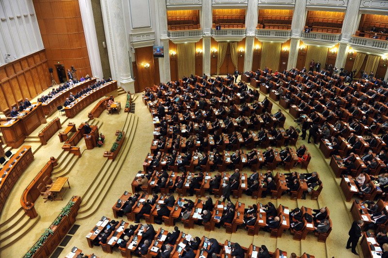 plen parlament AGERPRES