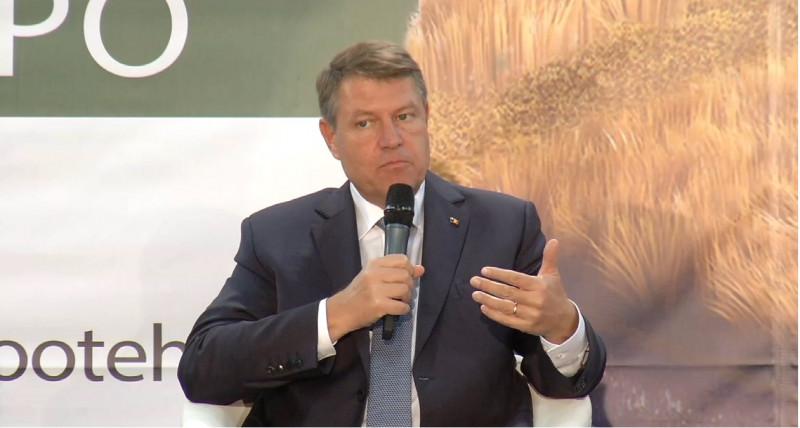 Klaus Iohannis INDAGRA