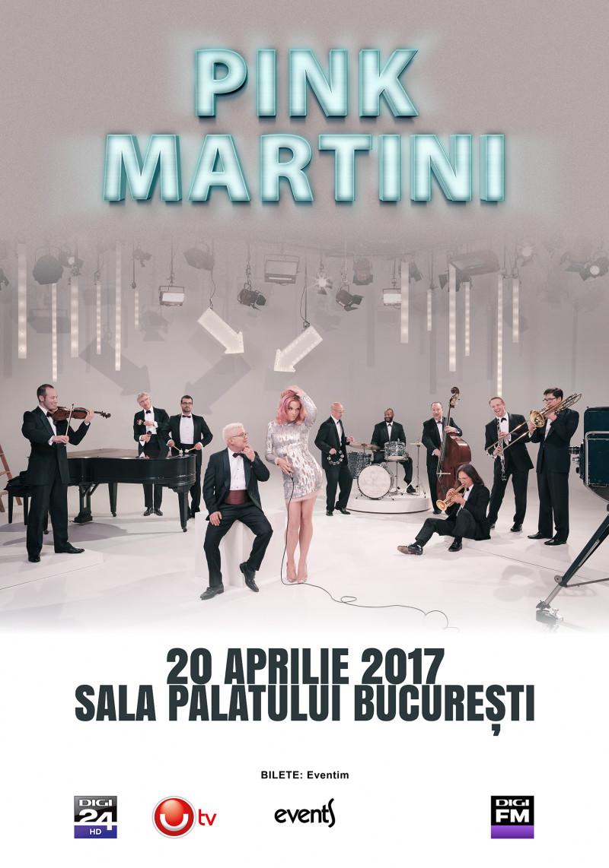 Poster Pink Martini 2017