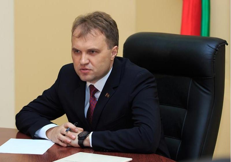 liderul transnistrean sevciuk