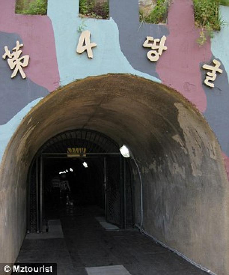 tunel coreea de nord2