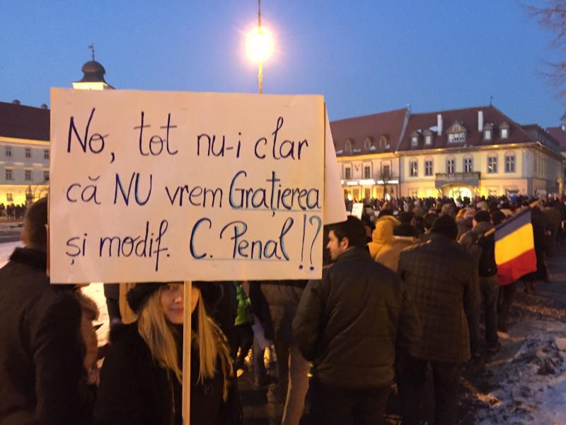 Protest Sibiu 1 290117