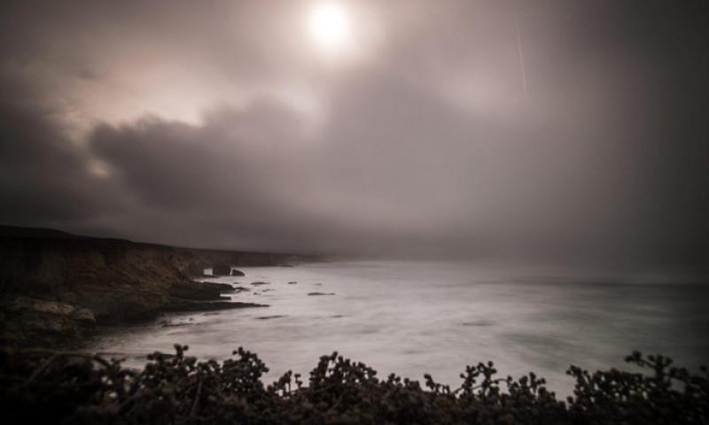 cer negru in california nasa