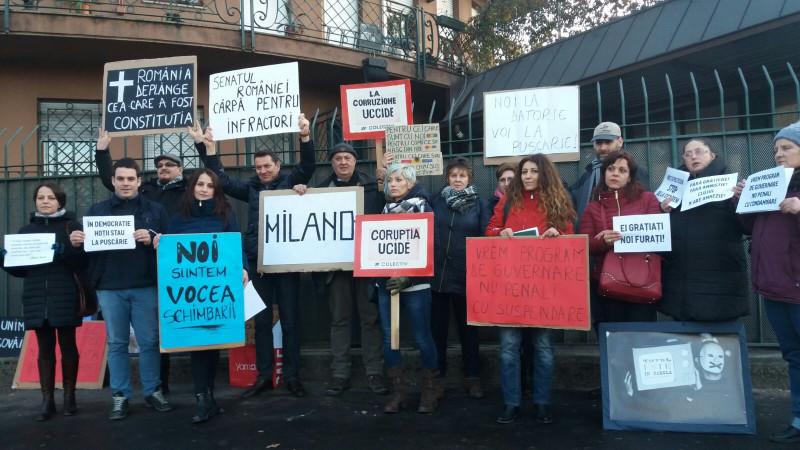 protest amnistie Milano 220117 (1)