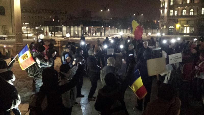 Protest Oradea rezista 080217
