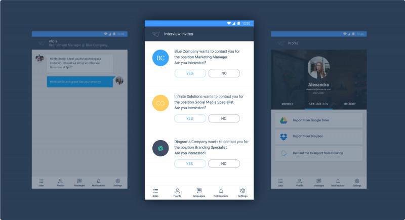 Screen Mobile App
