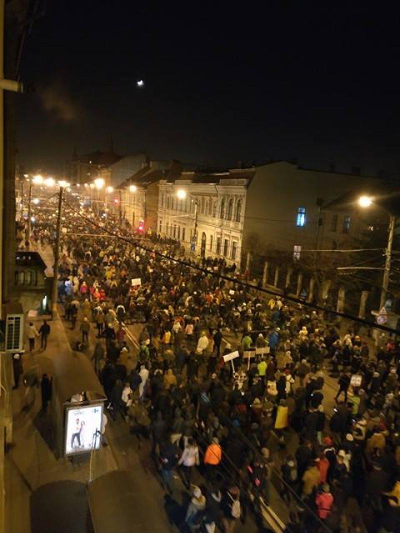 foto protest sergiu