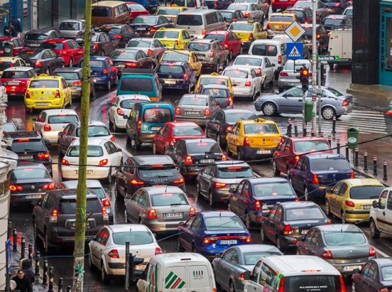 poza trafic aglomerat