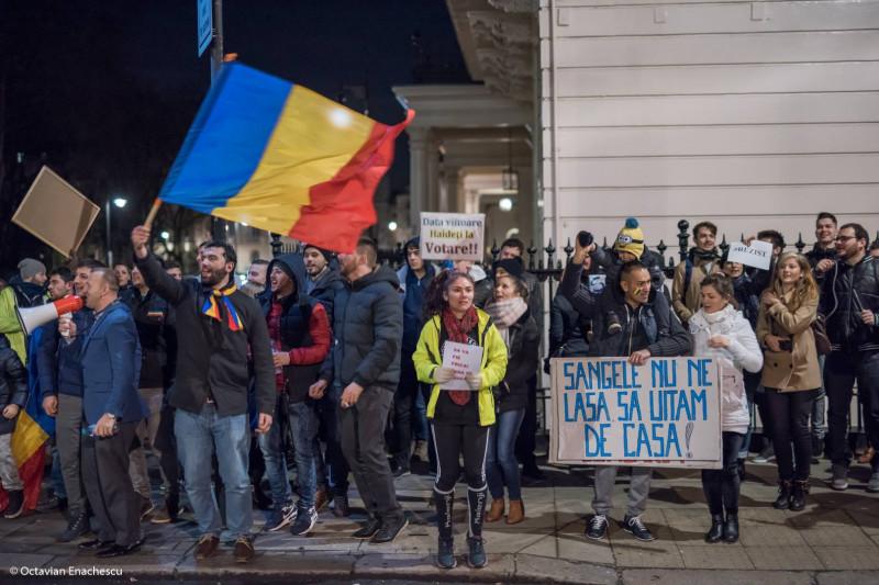 protest londra ziua 17 fb andrei rosu