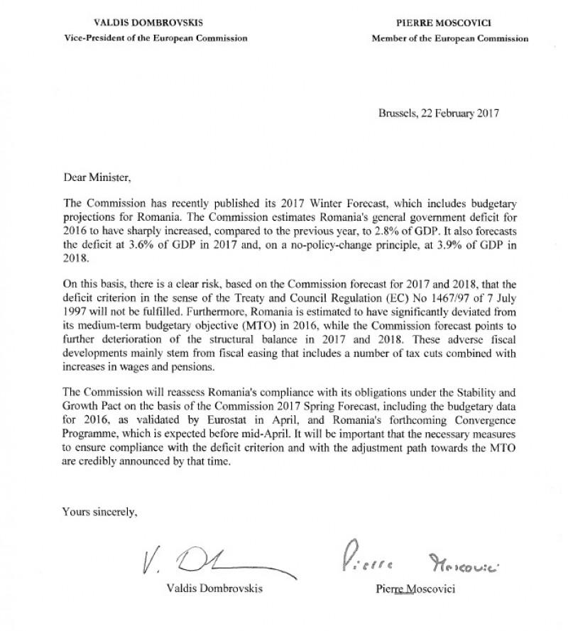 scrisoare CE grindeanu