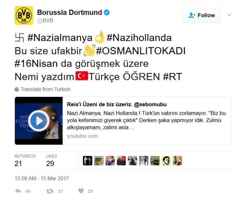 Borussia-Dortmund-Nazi-tweet