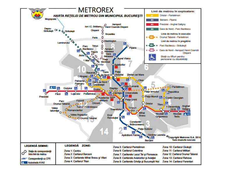Cele 9 Stații De Metrou Vor Fi Inchise Pe Rand Din Luna Iunie