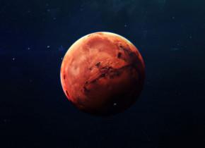 Imagini extraordinare cu un crater înghețat de pe Marte! Cum arată una dintre cele mai deosebite forme de relief din Sistemul Solar