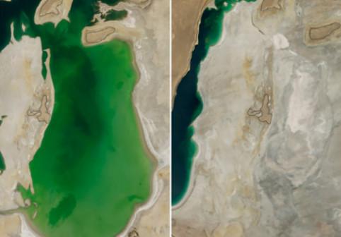 Cum arata Pamantul acum 4 decenii. Schimbarile dramatice prin care a trecut din cauza incalzirii globale: FOTO NASA