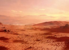 Cercetatorii au descoperit un mod prin care suprafata planetei Marte poate fi transformata in pamant arabil