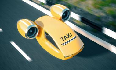 Taxiul zburator care se conduce singur a avut primul pasager! Cand va fi disponibil serviciul pentru public