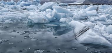 Imaginea reala a temperaturilor extreme. Cum arata fenomenul alarmant in Groelanda: FOTO