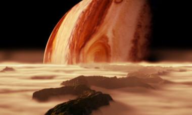 """Un obiect bizar """"activ"""" a fost observat in orbita planetei Jupiter. E prima data cand astronomii surprind un astfel de fenomen"""