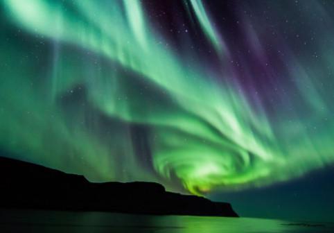 """O stagiara NASA a descoperit un nou tip de aurora boreala """"bizara si neprevazuta"""""""