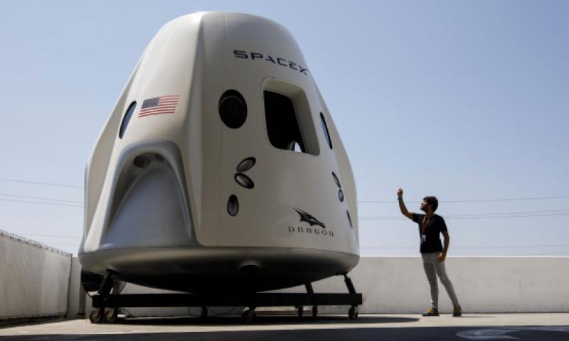 """Cum arată acum capsula """"prăjită"""" SpaceX Crew Dragon după misiunea istorică NASA"""