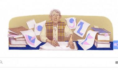 Cine a fost Geta Brătescu, românca omagiată de Google printr-un doodle special