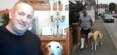 Un bărbat a cheltuit sute de euro în încercarea de a afla de ce schiopătează patrupedul său. Răspunsul medicilor face înconjurul lumii