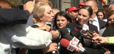 """Viorica Dăncilă, de la """"Orice om îi e teamă..."""" la """"Nicio mamă să nu îi fie frică..."""" (VIDEO)"""