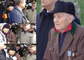 VIDEO: Veteran de război, ignorat de politicieni la ceremonia de 1 Decembrie