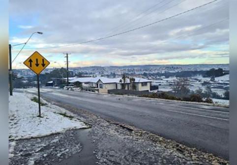 Prima ninsoare în Tasmania după 50 de ani
