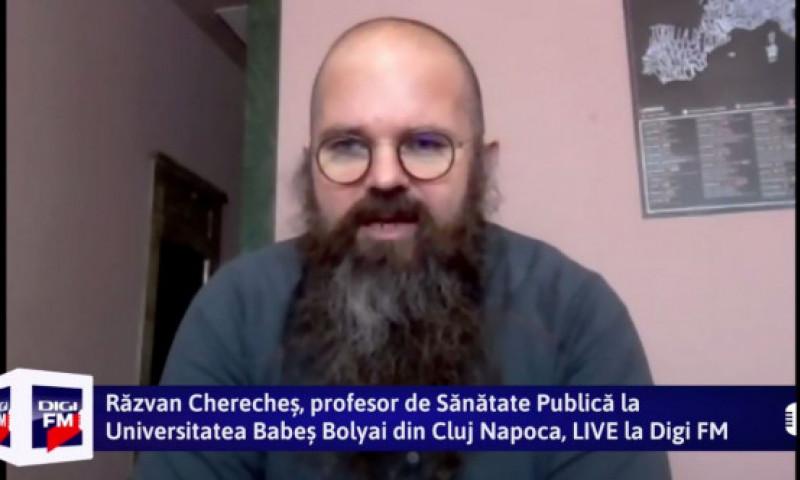 """Matinalii Digi FM - Răzvan Cherecheș: """"Avem nevoie de carantină ca să scădem numărul internărilor la terapie intensivă și decesele"""""""