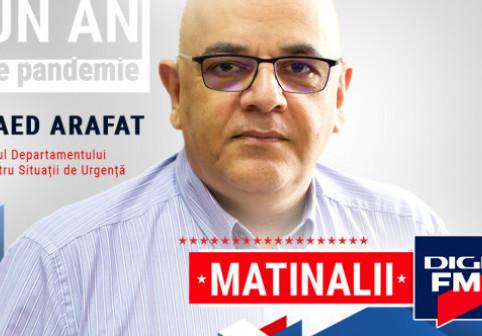 Raed Arafat le răspunde celor care îi cer insistent demisia