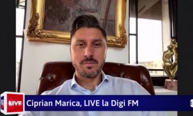 """Exclusiv Digi FM - Ciprian Marica: """"Avem un conducător care nu are habar de fotbal"""""""