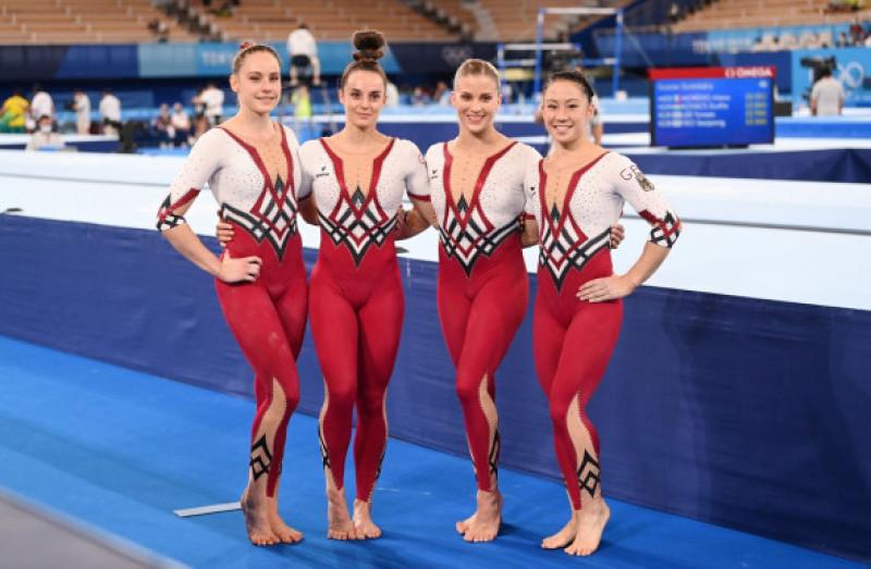 Gimnastele din Germania au protestat la Jocurile Olimpice