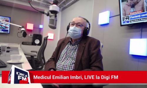 Medicul Emilian Imbri: La campania de vaccinare trebuie atrași preoții. Au transformat campania într-o competiție între agheasmă și vaccin