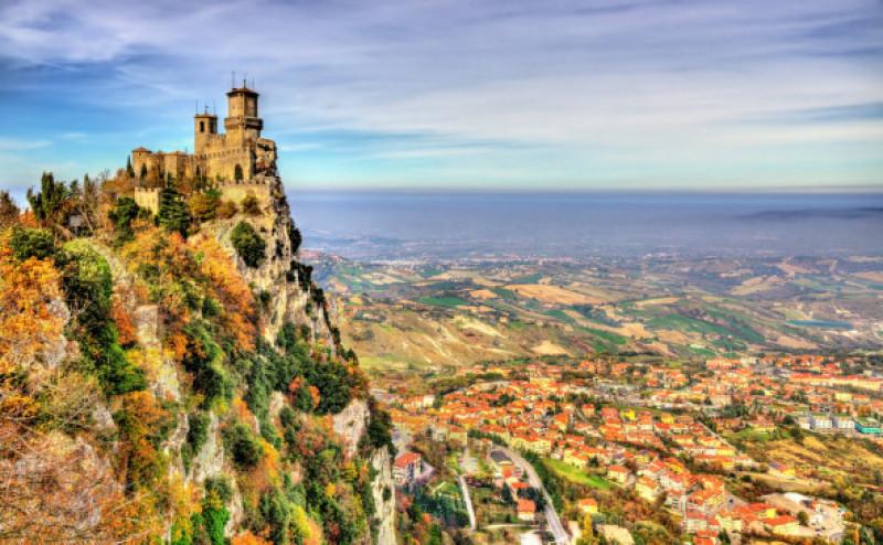 Cele mai mici tari din lume - San Marino