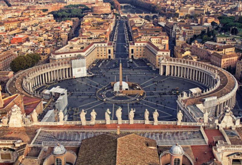 Cele mai mici tari din lume - Vatican
