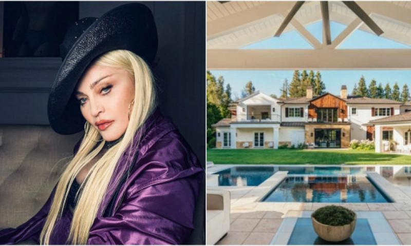 Madonna, cea mai recentă achiziţie: un conac în valoare de 19,3 milioane dolari. Locuința a aparținut înainte lui The Weeknd