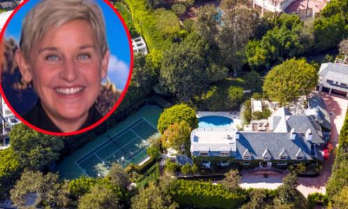 Cum arată interiorul unei vile de 47 de milioane de dolari. Ellen DeGeneres și-a vândut domeniul din Beverly Hills