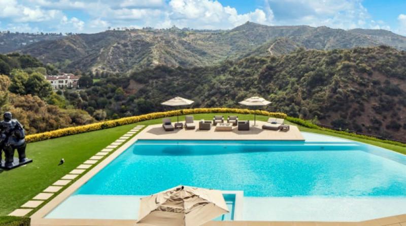 Sylvester Stallone piscina