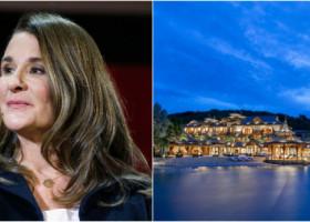 Cum arată insula privată pe care s-a refugiat Melinda Gates în plin divorț. O noapte de cazare costă 132.000 $