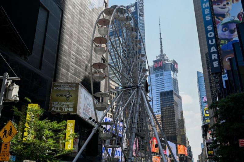 Daily life, New York, USA - 24 Aug 2021