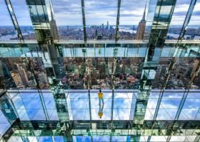 """Un zgârie nori din New York oferă turiștilor o experiență inedită: """"plutirea în aer"""""""
