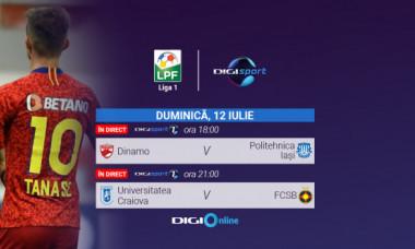 LIVE VIDEO | Universitatea Craiova - FCSB este acum în Digi Online, canalul Digi Sport 1. Hai să vezi meciul în direct