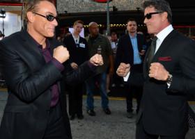 """S-a aflat! Adevărul despre secvența de luptă dintre Stallone și Van Damme din """"Expendables 2"""""""