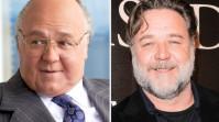 """Russell Crowe, chel și cu zeci de kilograme în plus. Actorul este greu de nerecunoscut în """"The Loudest Voice"""""""
