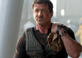 """Sylvester Stallone, """"desfigurat si plin de sange"""". Imaginea postată de actor: """"Dupa ce m-am ocupat de niște treburi"""""""