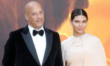 """Partenera lui Vin Diesel a atras toate privirile pe covorul roșu. Cum a apărut Paloma la premiera """"Hobbs & Shaw"""""""