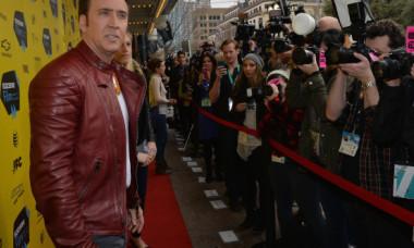 Nicolas Cage, greu de recunoscut cu acest look. Cum a apărut la premiera noului său film