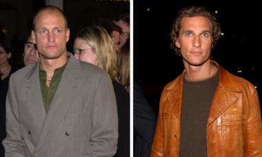 Matthew McConaughey și Woody Harrelson, în mare, ținându-se de gât. Cum arată cei doi la 20 de ani de la primul film împreună